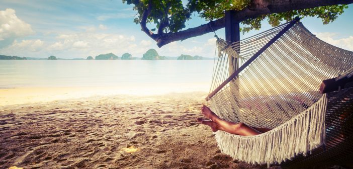 hammock-sand-resting-relaxing
