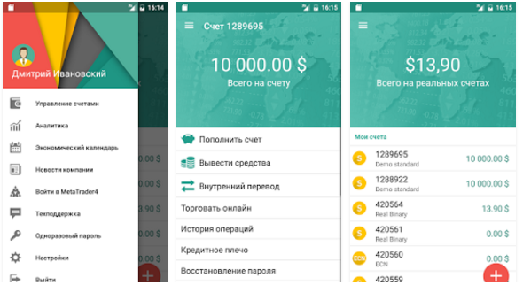 Grand Capital Invest для Android.