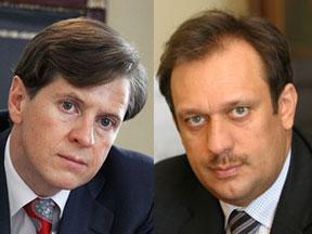 Андрей Бородин и Дмитрий Акулинин