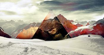 abstrakcii-treugolnik-gory