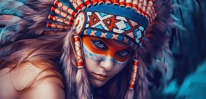 три индейца